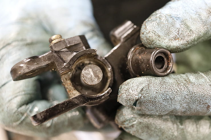 If your motorcycle's brakes aren't working right and you've bled the system and checked the calipers, the master cylinder might be bad. Here's how to fix it