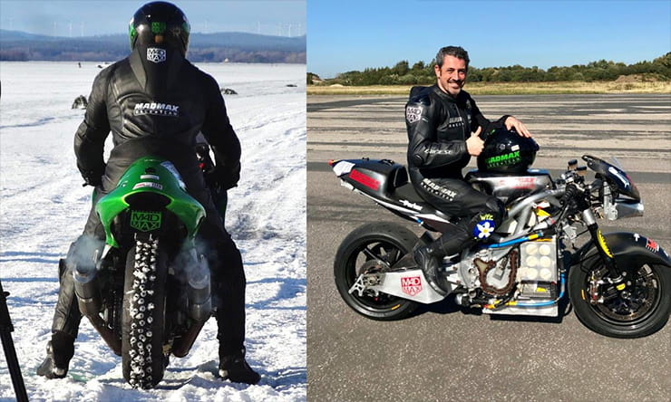 MADMAX Team Rider Zef Eisenberg raced in to the record books at this year's National ACU/FIM motorcycle awards, scooping three World Record FIM awards at the prestigious ceremony.