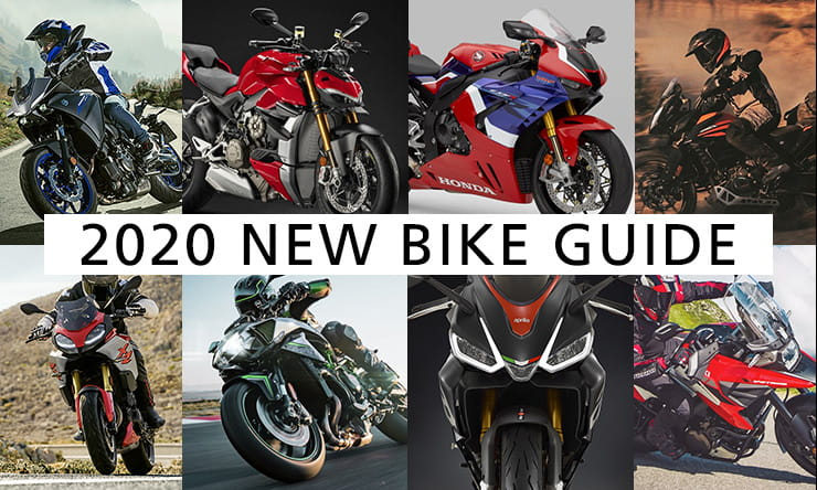 It's another bumper year of new motorbikes! Here are the details of all the new or updated models for 2020, including those all-important prices.