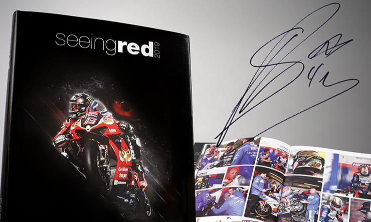 BikeSocial have a signed copy of Seeing Red's stunning 2019 Bennetts BSB season review. Here's how to get your name in the hat…