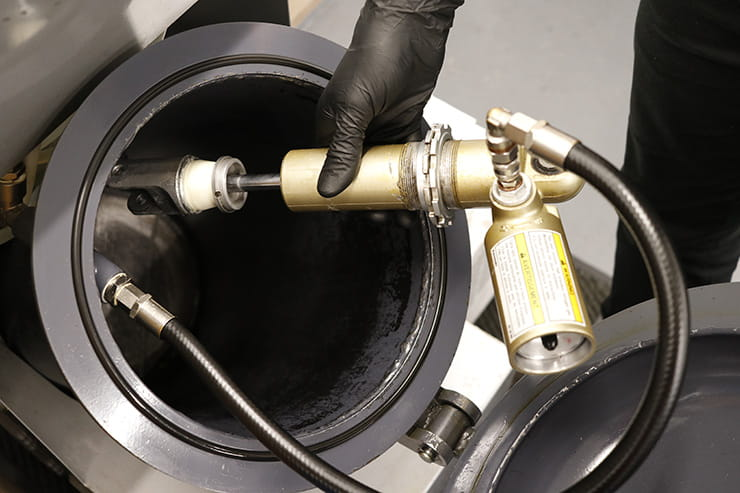 Can you repair the shock absorber on your motorcycle? Bike suspension can often be rebuilt for as-new performance; full review of K-Tech suspension service