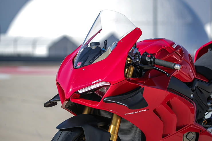 Aero, frame and electronic upgrades make the Panigale V4 easier to ride and with more confidence.