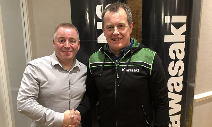 23-time TT winner, John McGuinness, returns to the road racing scene for 2020 on the Quattro Plant Bournemouth Kawasaki