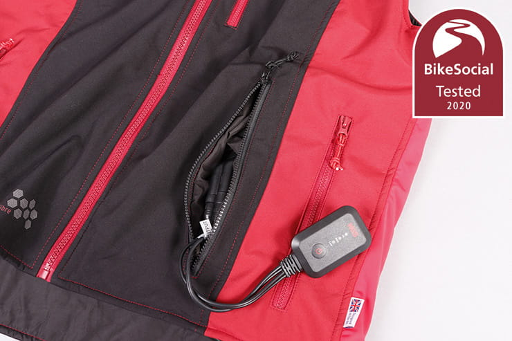 Well made, smart design and strong performance from this easy-to-use heated vest