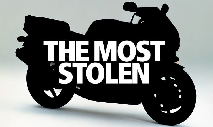 What's the most stolen motorcycle?