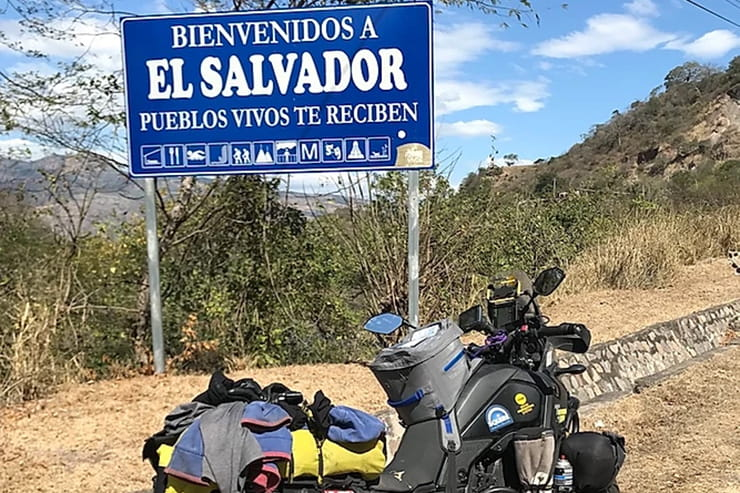 The 61-year old is currently on his eighth tour of the globe – and for this 100,000km expedition, he's riding the new Yamaha Ténéré 700.