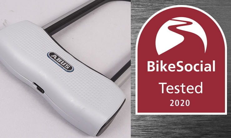 The Abus 770A SmartX Bluetooth U-lock on review here is a clever hands-free security device for motorcycle and bicycles, but it has one serious flaw…