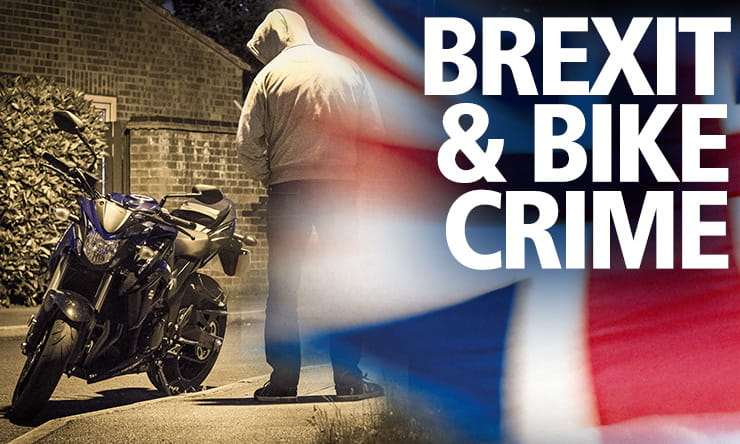The tightening of border controls and customs checks with the EU, could have a surprising benefit of reducing UK bike theft.