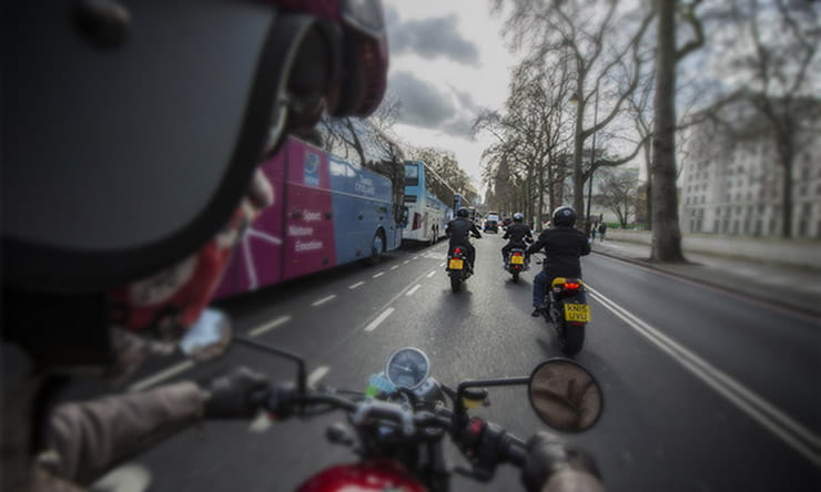 Commuting on a motorcycle is more dazzling than top-flight football. Salute your local scooter rider