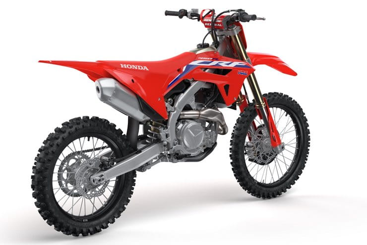 Honda's latest motocross flagship and updated rivals from Yamaha, Kawasaki and KTM for 2021
