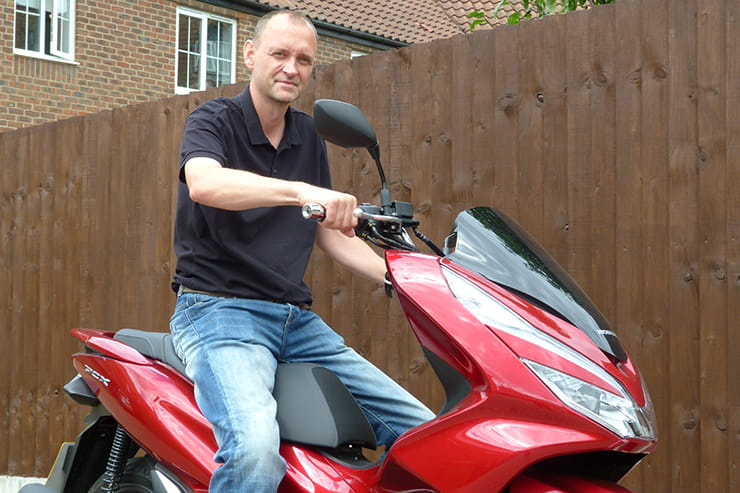 Bennetts Rewards member Gavin Farrow bought his Honda PCX125 at the beginning of the year as a commuting tool. Despite lockdown meaning that he has been working from home, he has still had ample opportunity to use his new PCX.