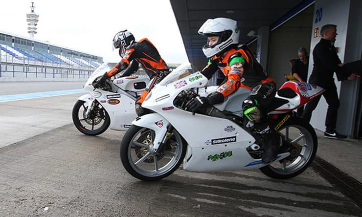 Honda to sponsor British Talent Cup
