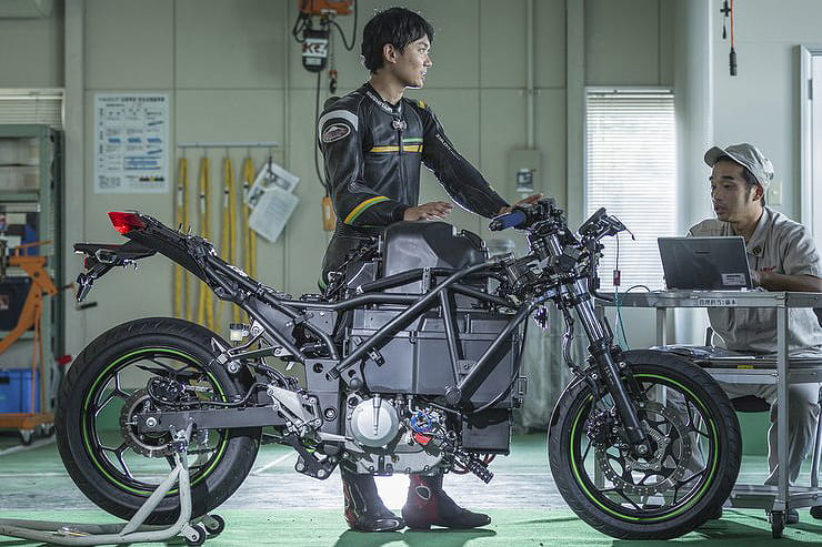 Electric bike plans from Kawasaki ramping up
