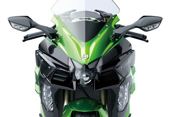 Kawasaki has confirmed a radar-equipped bike for 2021. H2SX is favourite to get the system.