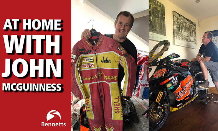 At home with John McGuinness