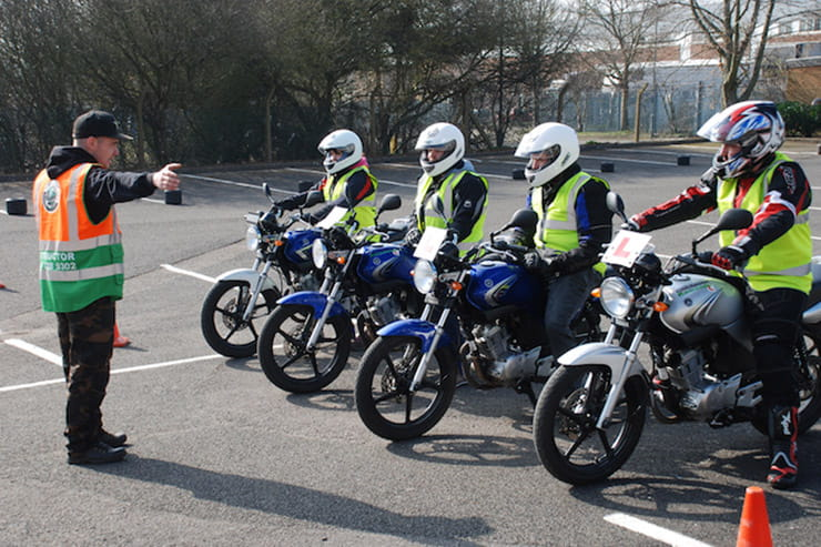 IAM RoadSmart has kicked off its advanced rider training, but there's still no action on L-plate instruction and tests