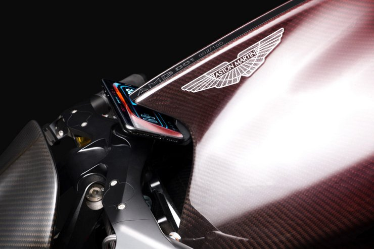Despite a troubled few months, Aston Martin's motorcycle plans remain on course as testing begins