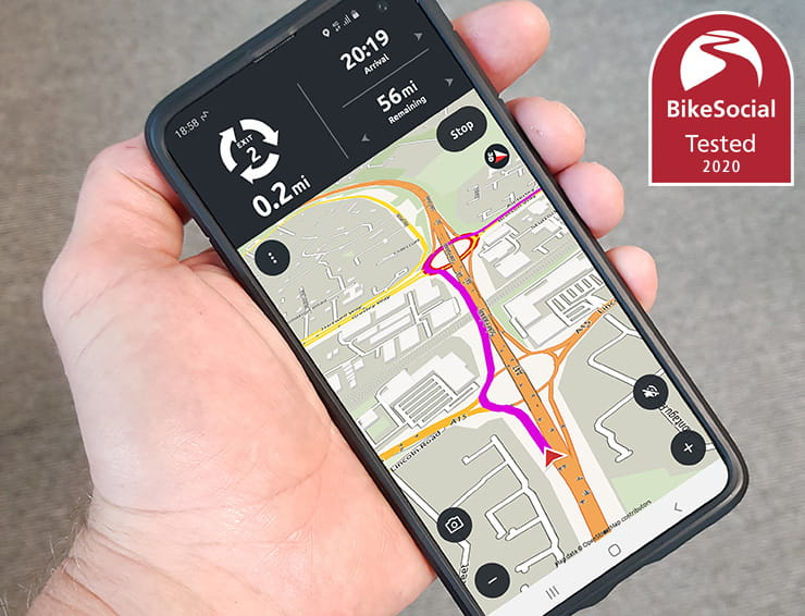 Calimoto motorcycle trip planner offers riders unique and powerful route navigation through an app on their phone. Full review of this TomTom alternative…