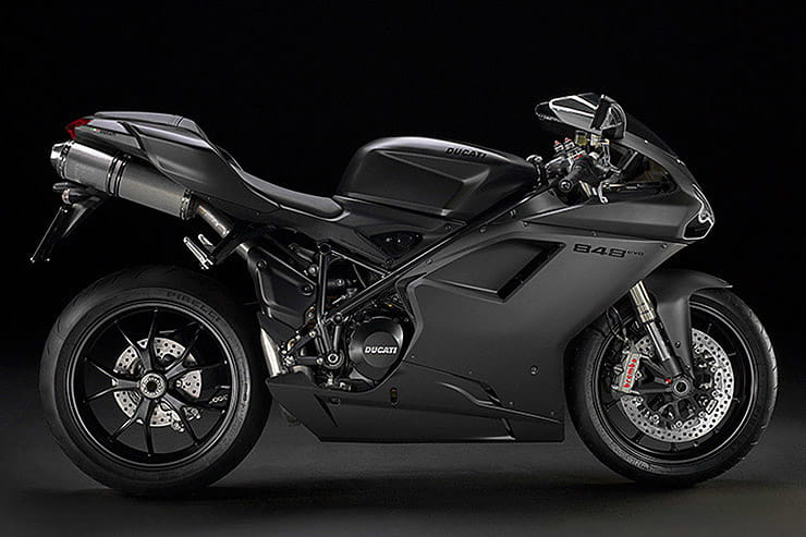 If you want a machine that encapsulates the sheer joy of riding and won't scare the bejesus out of you, the Ducati 848 is a great option