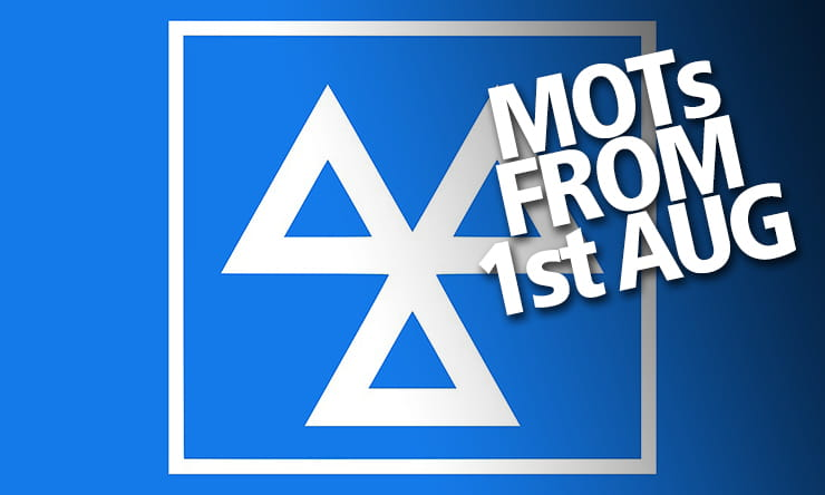 MOT extension to be dropped from 1st August as tests get back to normal