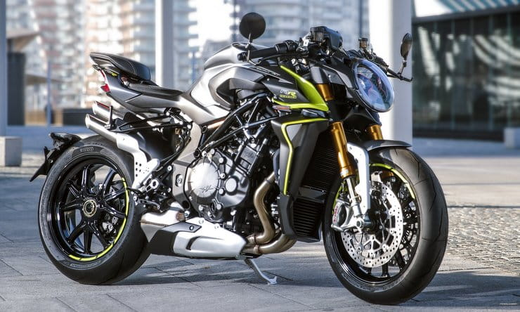 MV's 208hp Brutale 1000RR aims to shake-up the hyper-naked class