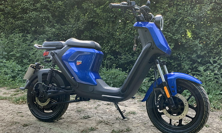 Affordable, efficient and easy to use. NIU's UQi moped might well be a Yamaha Fizzie for Generation Z
