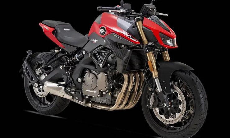 New QJMotor SRK600 reveals the future for Benelli's 600cc four-cylinder