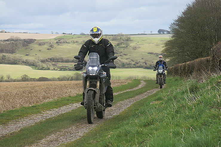Learning off-road skills from experts in beautiful, rural Dorset