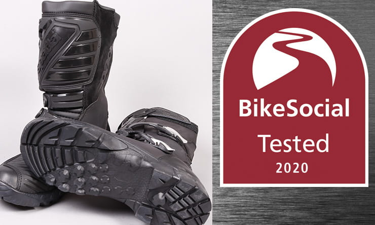 Full review of the Spada Raider CE-approved waterproof adventure-style motorcycle boots. At £149.99, are these a good, relatively budget choice?