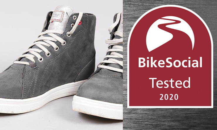 Full review of the stylish, comfortable, waterproof AND protective TCX Street Ace Lady women's motorcycle boots. The best casual bike kit?