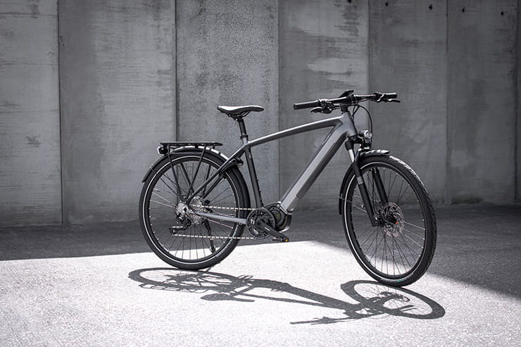 136-years after the firm's first bicycle, the Triumph Trekker GT e-bike arrives