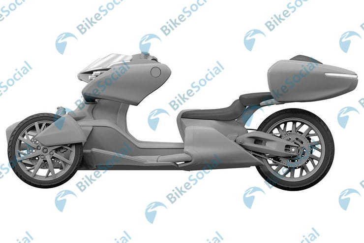 Next-generation Yamaha trike concept shows a big leaning three-wheeler is on the horizon