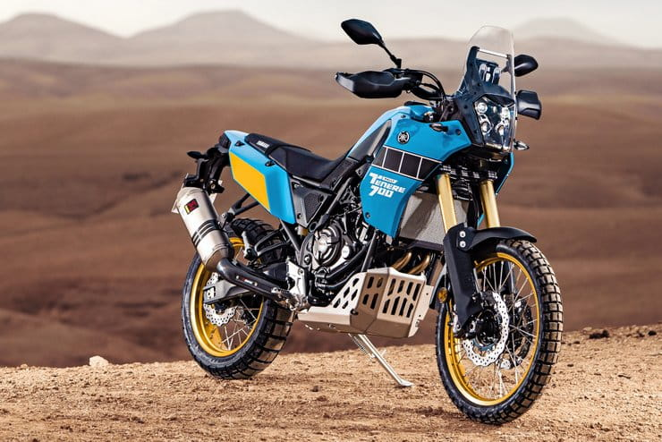 "New, more hardcore version of Yamaha's Ténéré 700 launched as ""Rally Edition"""