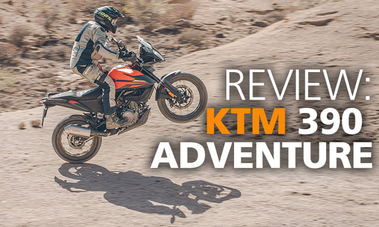 KTM, who have a long-standing reputation in the adventure market, have decided to produce a new bike to their already impressive line-up, their single-cylinder 390 Adventure.