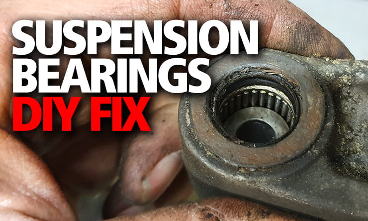 DIY fix: understanding how to maintain and replace your motorcycle's suspension linkage and swingarm bearings will make it handle better and more safely