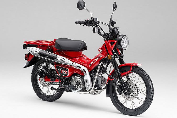 Honda launches the ideal apocalyptic transport; the CT125 Hunter Cub