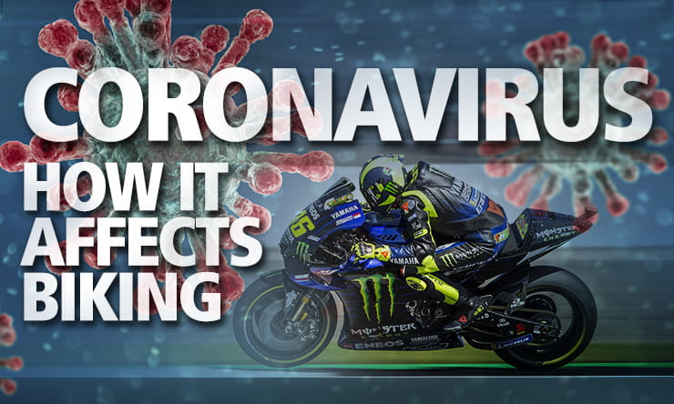 How does coronavirus affect motorcycling