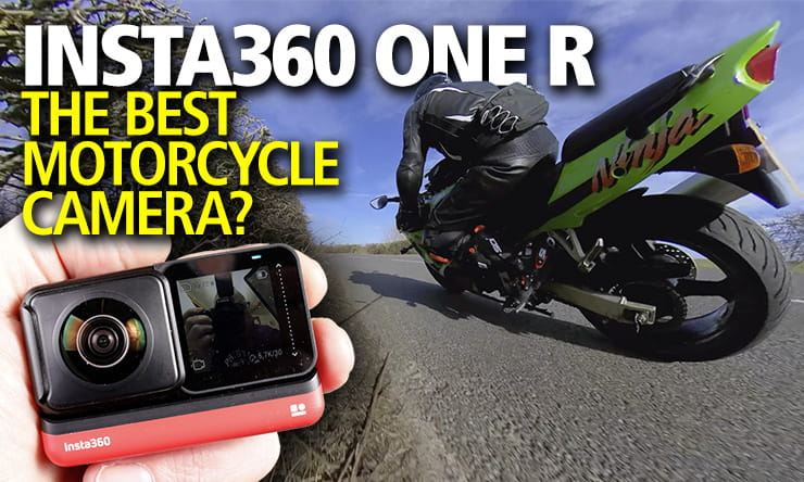 Full review with video of the Insta360 One R – with its 360 VR and 4K modules, is this the best action camera for motorcycle riding in 2020?