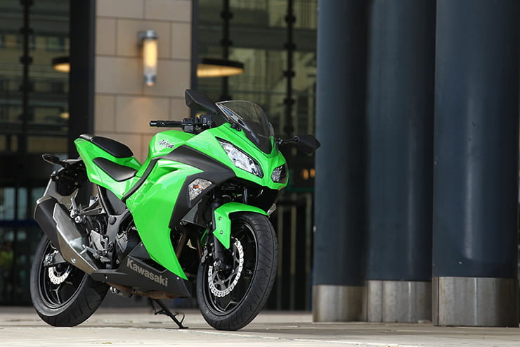 Taking over from the hugely popular Ninja 250, the Ninja 300 arrived in 2012 and brought with it a whole heap of added Ninja attitude and technology to Kawasaki's surprise hit A2-legal mini-sportsbike.