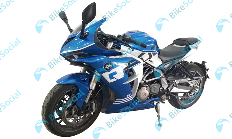 Fully-faired Benelli 600RR is due in production later this year
