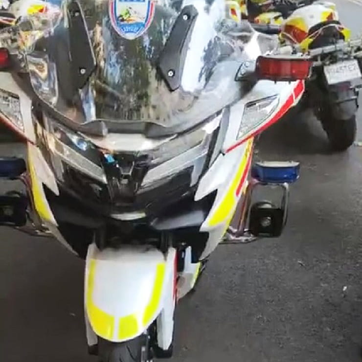 Cops start using CFMoto's 140hp CF1250J – China's most powerful motorcycle yet