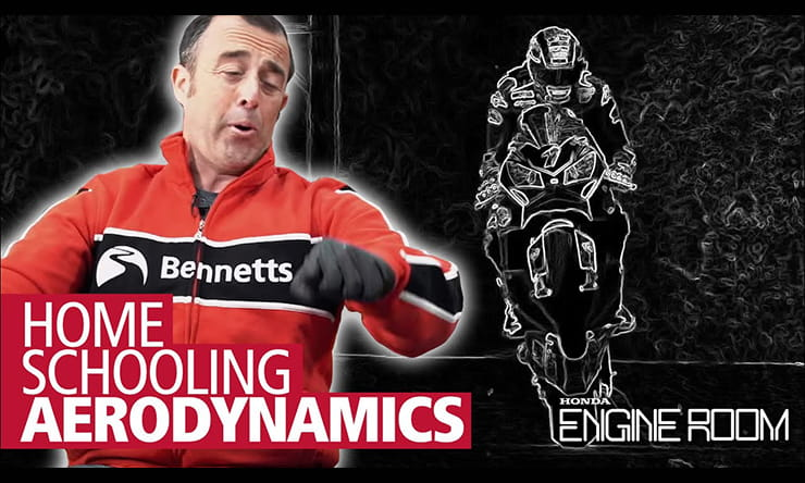 From the shape of a bike or what you wear to your size or the luggage you carry, it all influences the motorbike's stability. Watch the full video here.