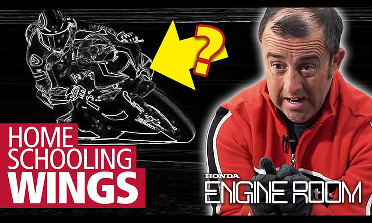 From controlling the motorcycles stability to aiding braking performance, we look at why motorcycles have wings. Watch the full video here.
