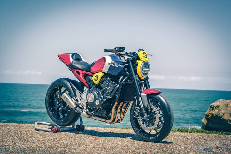 Honda wants you to choose the best of a dozen custom CB1000Rs