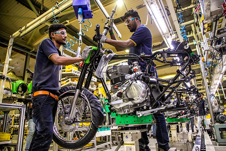From the moment an idea is sketched out on the drawing board, to a motorcycle reaching production, this is how Royal Enfield creates its bikes…