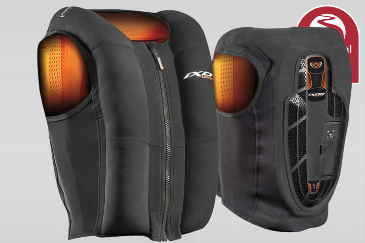Full review of the Ixon airbag vest with In&Motion tech. Is it worth buying this self-contained motorcycle safety kit that works with all bike jackets?