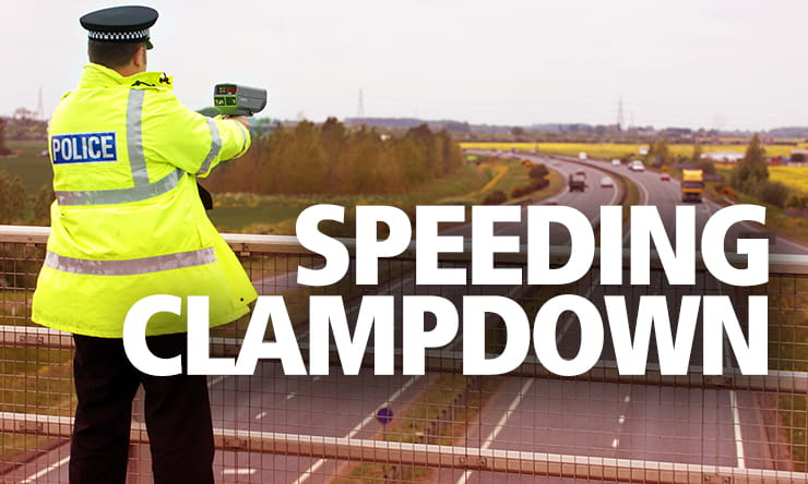 It's not just your licence on the line – riders are being urged to be responsible during a two-phase anti-speeding operation