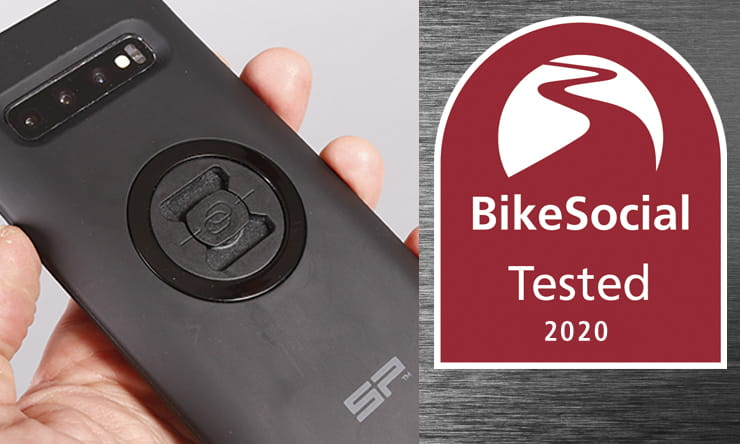 Mounting your phone to your motorcycle can give you access to navigation and more, but is it safe and secure? Full review of the SP Connect system…