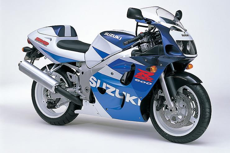 Suzuki Gsx R600 Srad Review 1997 2000 Buying Guide