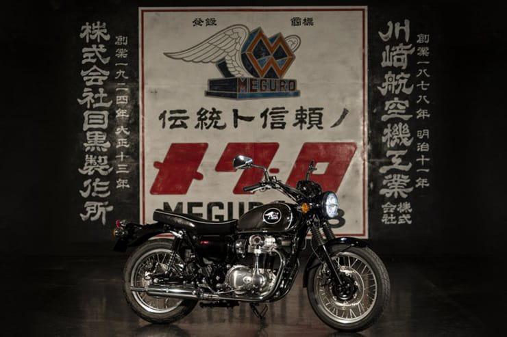 Кавазаки представила новую версию W800 Meguro K3
